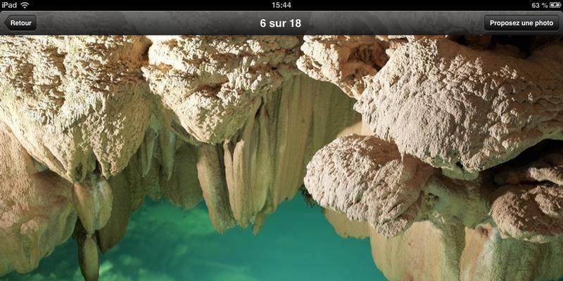 Vallée de la Dordogne l'appli : Une large place pour les visuels