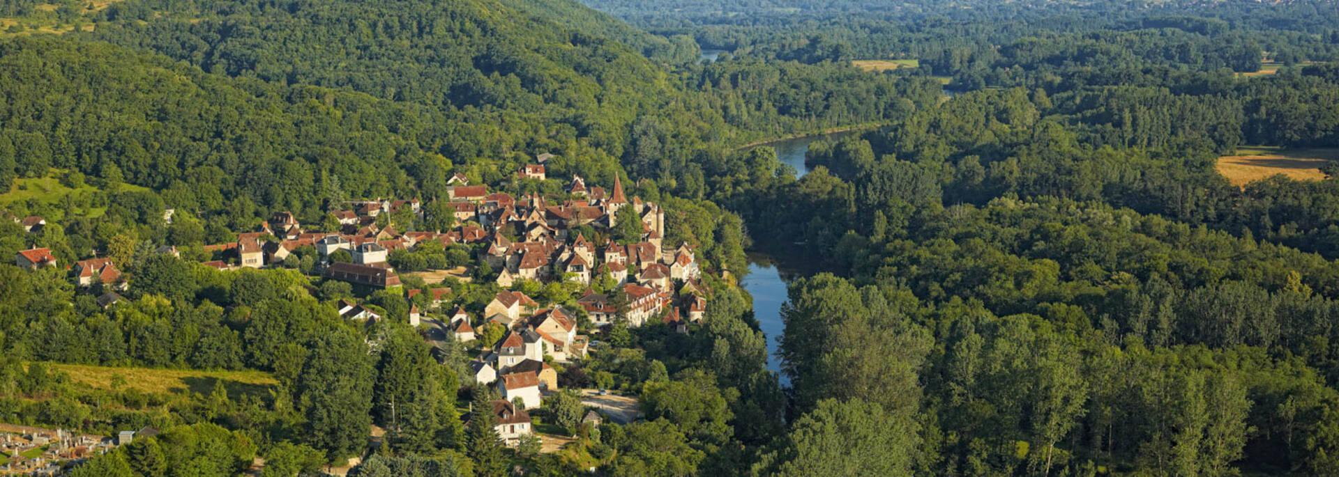 Carennac on the Dordogne River