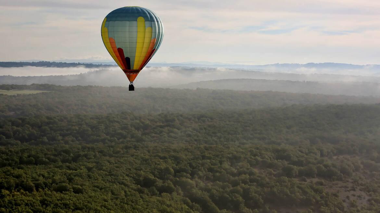 Rocamadour Hot Air Balloon Festival