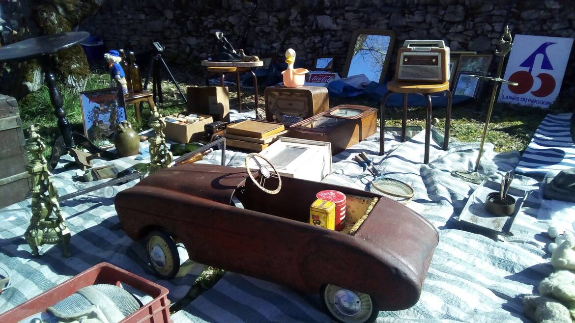 Brocantes and Flea markets
