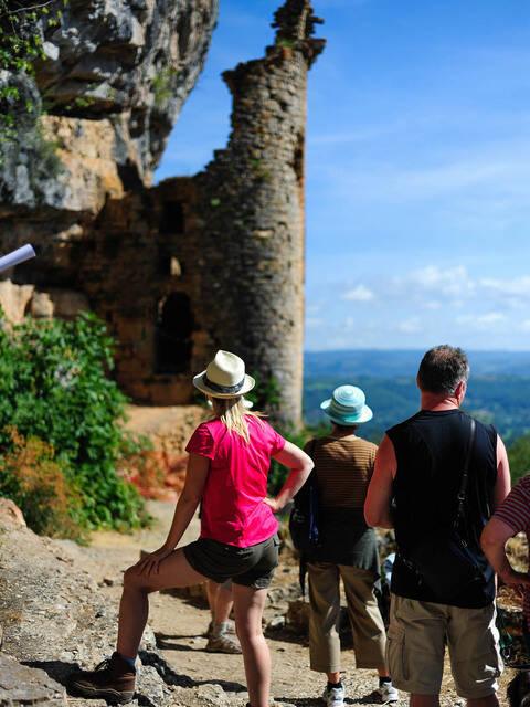 Château des Anglais à Autoire - @ Bob D