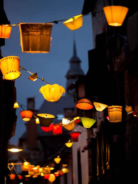 Lumières du soir à Meyssac