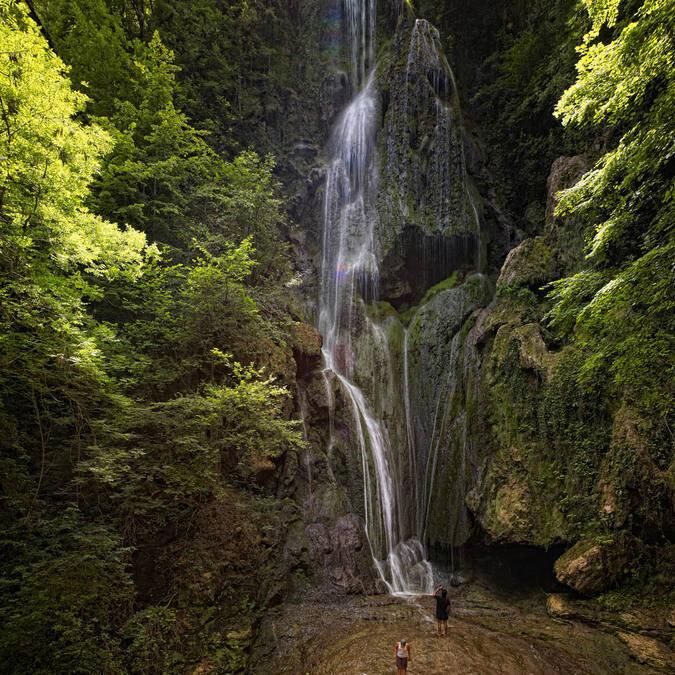 30m high cascade in Autoire