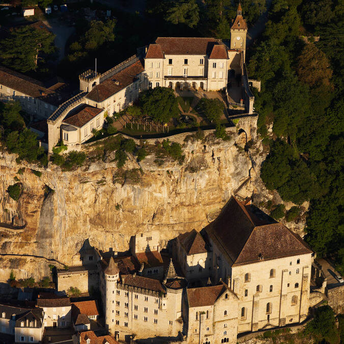 The sacred city of Rocamadour