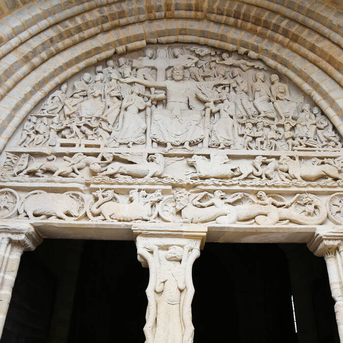 The tympanum