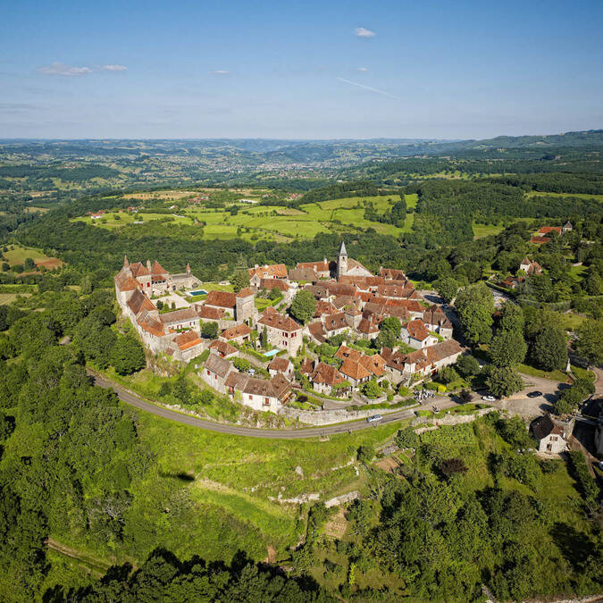 Loubressac from above