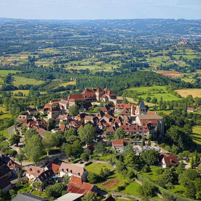Loubressac on a hilltop
