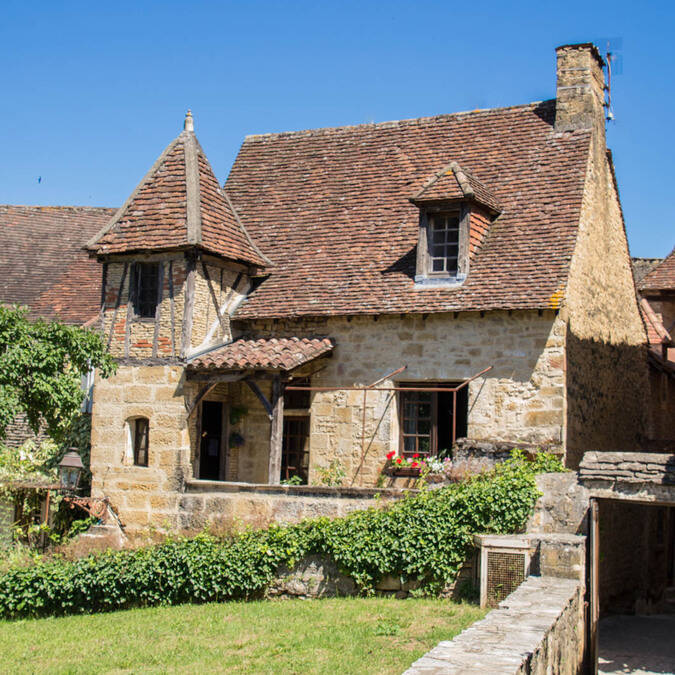 Medieval house in Sarlat