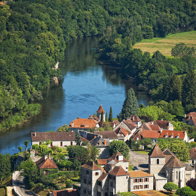Meyronne and the Dordogne