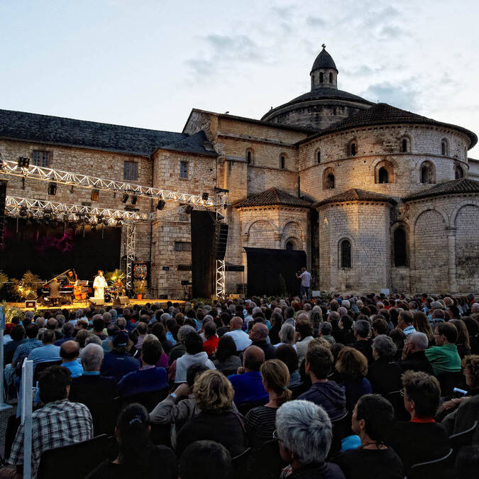 Jazz festival in Souillac