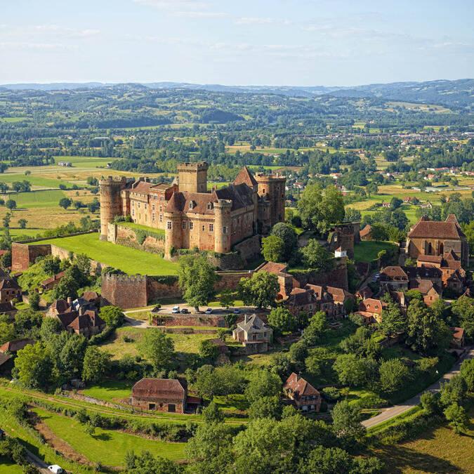 Castle of Castelnau-Bretenoux - @ D. Viet
