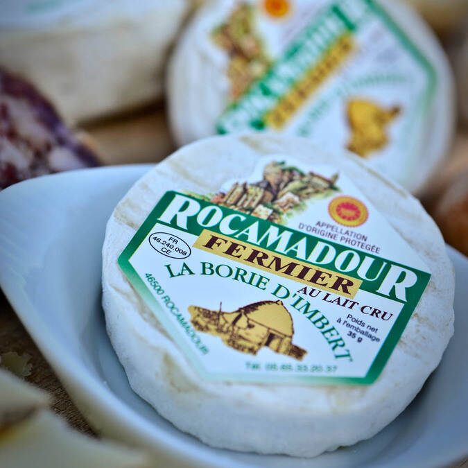 Rocamadour cheese - @ C. Ory