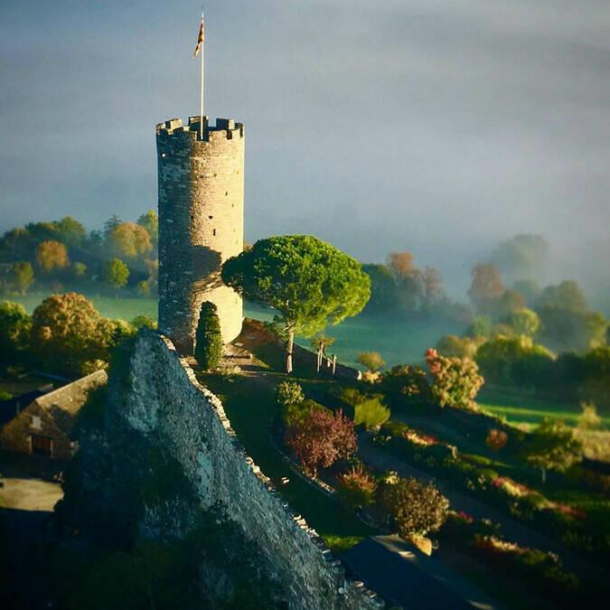 Castle of Turenne - @ Corrèze montgolfières